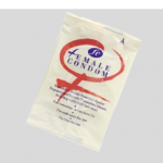 Female condom is a soft, loose pouch inserted into the vagina.