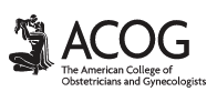 The American College of Obstetricians and Gynecologists